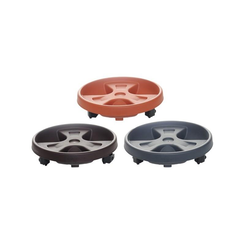 Podstavek Mediteran s kolesi 30cm v različnih barvah