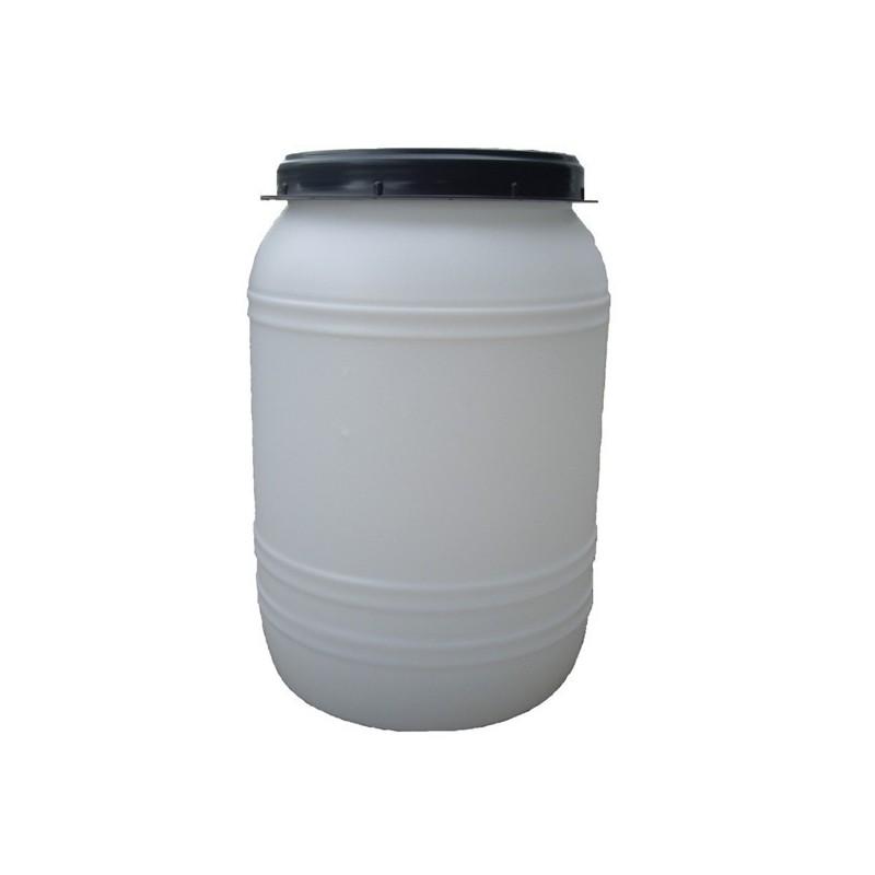 Sod beli z navojnim pokrovom za živila 60L in 120L