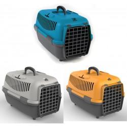 Transporter NOMAD 1 s plastičnimi vrati za mačke in pse