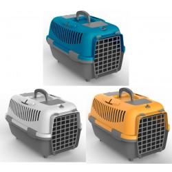 Transporter NOMAD 2 s plastičnimi vrati za mačke in pse