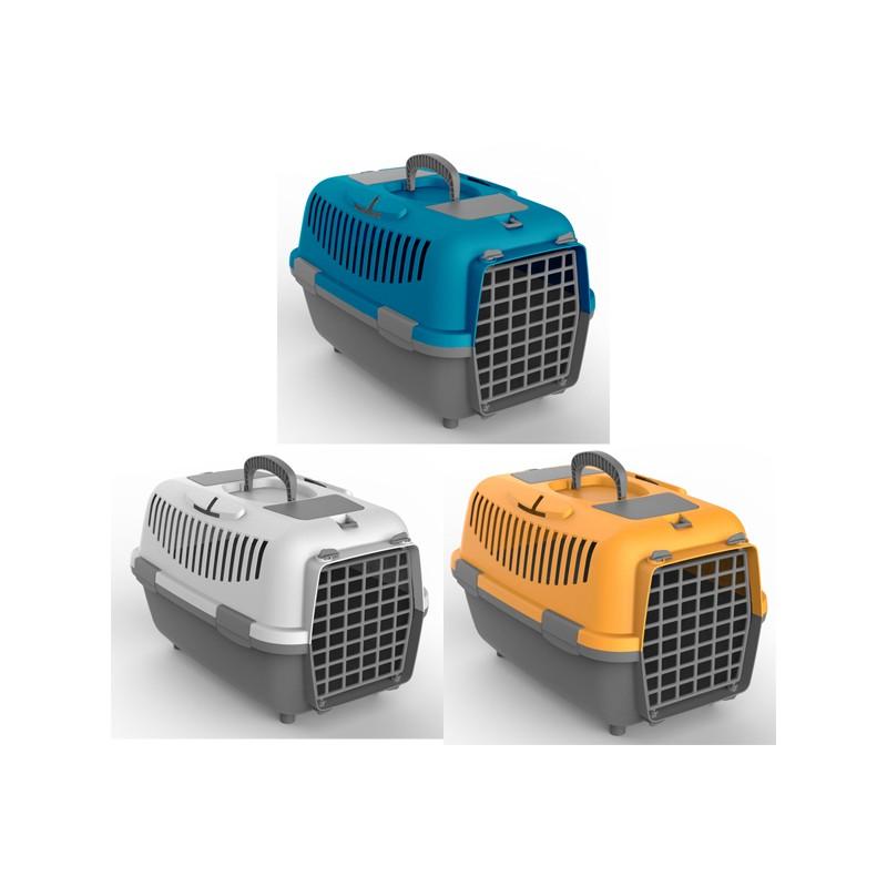 NOMAD 3 transporter s plastičnimi vrati za mačke in pse
