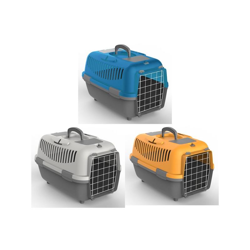 NOMAD 2 LUX transporter s kovinskimi vrati za mačke in pse