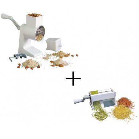 Komplet mlinček za orehe in strojček za izdelavo rezancev NOODLMATIC Pocajt